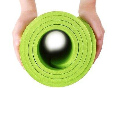 Thick Yoga Mat Camping Non-Slip Pilates Meditation