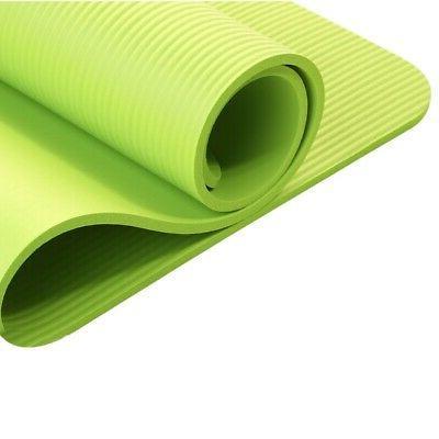 Thick Yoga Camping Pilates Meditation Pad