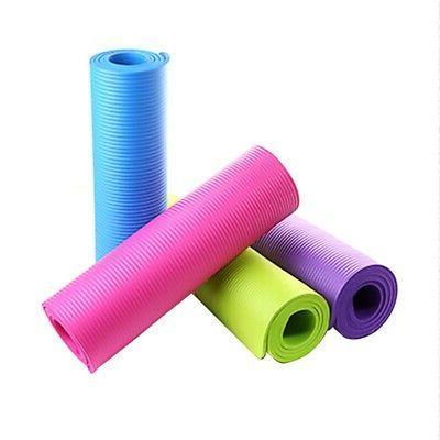 thick yoga mat gym camping non slip