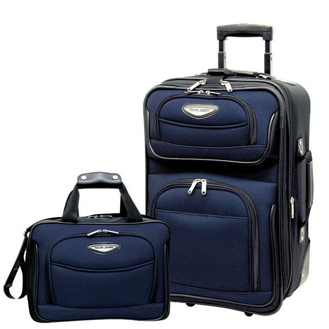 travel select navy amsterdam 2p carry on