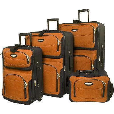 traveler s choice amsterdam 4 piece luggage