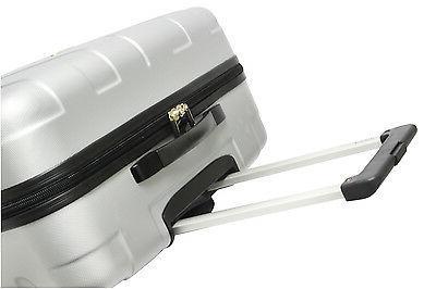 Black Hardside Rolling Luggage