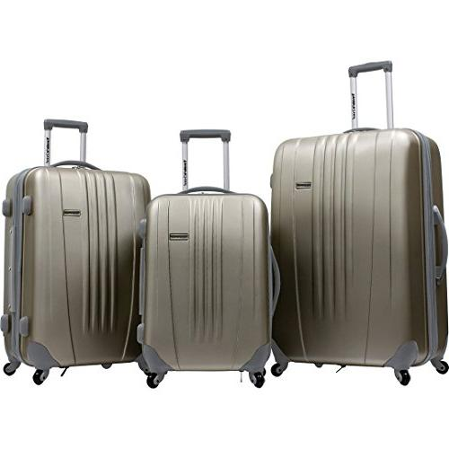 traveler s choice toronto 3 piece hardside