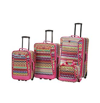 tribal luggage set