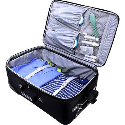 U.S. Traveler New 4-Piece Luggage Set 4 Colors