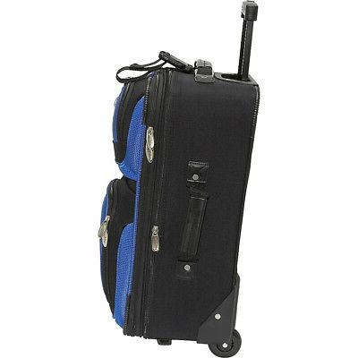 U.S. Traveler 4-Piece Luggage Set Colors
