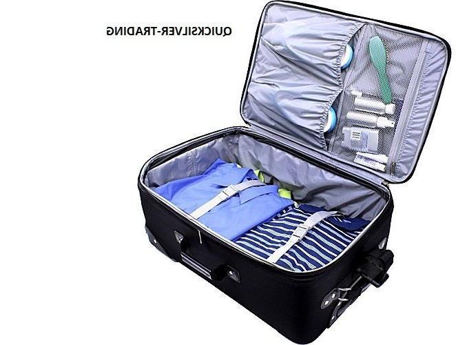 U.S. Traveler Yorker 4-Piece Luggage