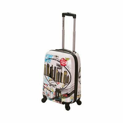 unisex 20 polycarbonate carry on f206