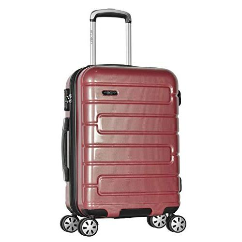 usa nema hardside spinner luggage 18 underseater