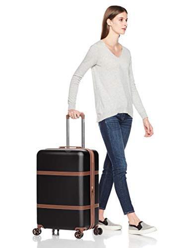 AmazonBasics Suitcase Black