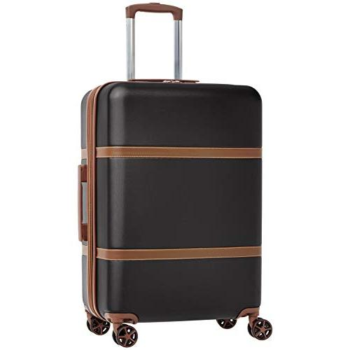 vienna luggage expandable suitcase spinner 24 inch