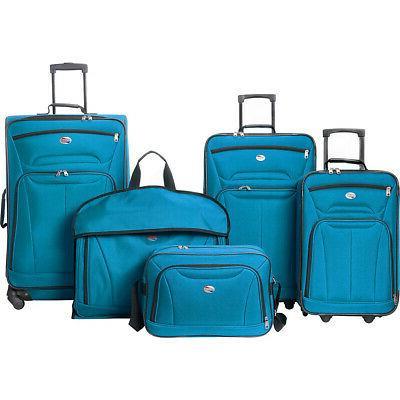 wakefield 5 piece luggage set