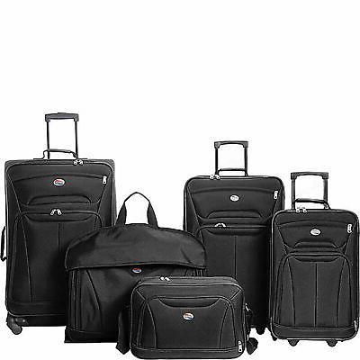 wakefield 5 piece set luggage