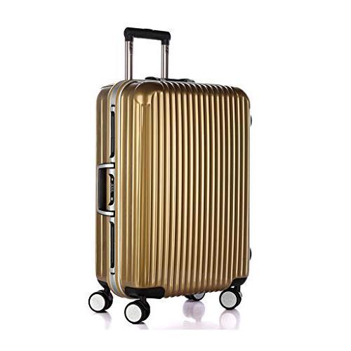 wanxiang wheel aluminum frame suitcase vintage pull