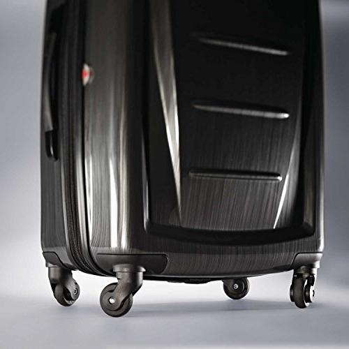 """Samsonite 2 Hardside 24"""" Luggage, Brushed"""