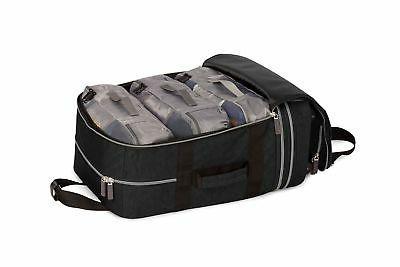 Biaggi Luggage Zipsak Expandable On - Black