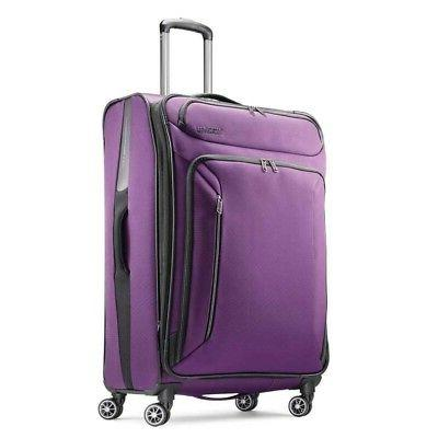 zoom softside 28 spinner suitcase