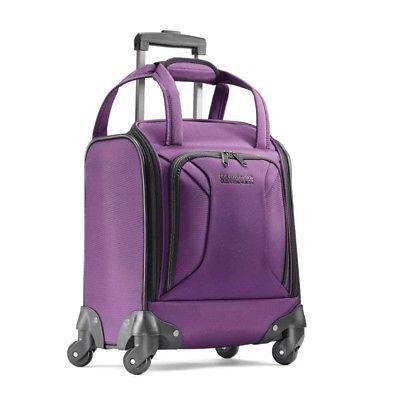 zoom underseater spinner tote carry on luggage