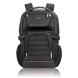 Solo Arc 17.3 Inch Laptop Backpack, Black
