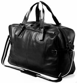 Large Leather Gym Weekend Luggage Travel Duffle Bag Travel H