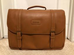 Hartmann Leather Saddle Messenger Bag In Aged Belting