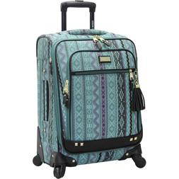 """NEW Steve Madden Legends Luggage 20"""" Expandable Suitcase Wit"""