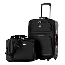 Lets Travel 2 Piece Carry On Luggage Set