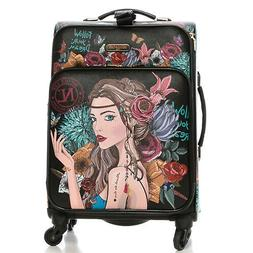 LG1420 NICOLE LEE 20in CARRY ON LUGGAGE Angelina Follows Dre