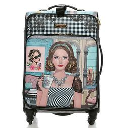 LG1420 NICOLE LEE 20in CARRY ON LUGGAGE Ara Loves Morning Co