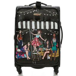 LG1420 NICOLE LEE 20in CARRY ON LUGGAGE House Party
