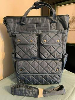 LUG Lgtweight~Water Repellent~CHARLESTON TOTE~Luggage Hang S
