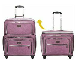 Biaggi Luggage Lift Off Expandable Carry-on to Check in, Pur