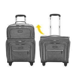 Biaggi Luggage Lift Off Expandable Under-Seater to Carry-on,
