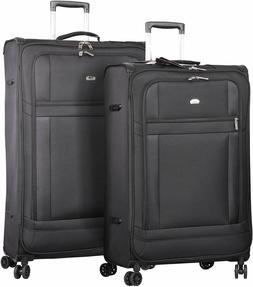 Aerolite Lightweight Large Luggage Sets 2 piece - Reinforced