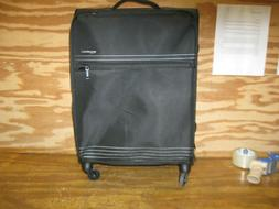 lightweight softside spinner suitcase luggage with wheels