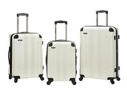 Rockland London Expandable 3-Piece Hardside Spinner Upright