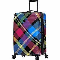 Body Glove Long Lat Tartan 26 Inch 8 Wheel Hardside Luggage