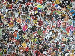Lot 100 Random Vinyl Laptop Skateboard Stickers bomb Luggage
