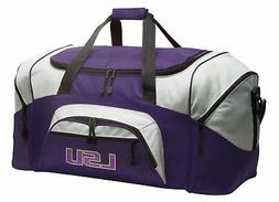 LSU Tigers Duffel Bag LSU Duffle Gym Sports Luggage Bags