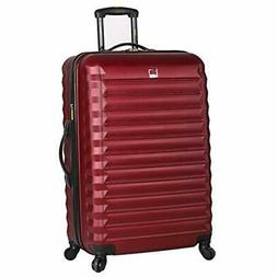 Lucas Suitcases ABS Mid Size Hard Case 24 Inch Rolling With