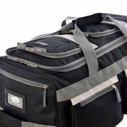 "Olympia Luggage 29"" 8 Pocket Rolling Duffel Bag"