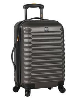 Lucas Luggage ABS Large Hard Case 28'' Rolling Suitcase With