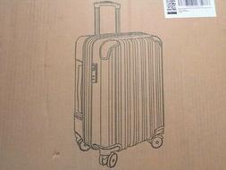 Coolife Luggage Aluminium Frame Suitcase TSA Lock 100% PC  W