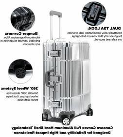 Cloud 9 Luggage Aluminum Luxury Hard Case Carry On 360 Degre