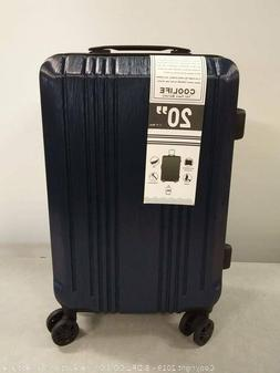 Coolife Luggage Carry-on Suitcase TSA Lock Spinner Lightweig