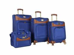 Caribbean Joe Luggage Castaway 4-Piece Spinner Suitcase Set