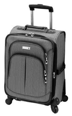 London Fog Luggage Chatham 360 Collection 20-Inch Expandable