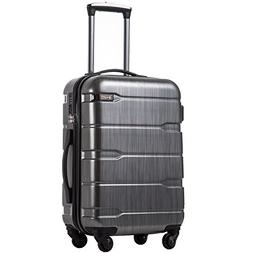 luggage expandable only 28 suitcase pc abs