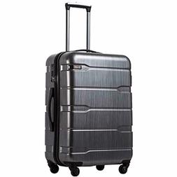 Luggage Expandable Suitcase PC & ABS Hard Shell with Spinner