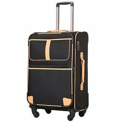 Coolife Luggage Expandable Suitcase Spinner Softshell TSA Lo